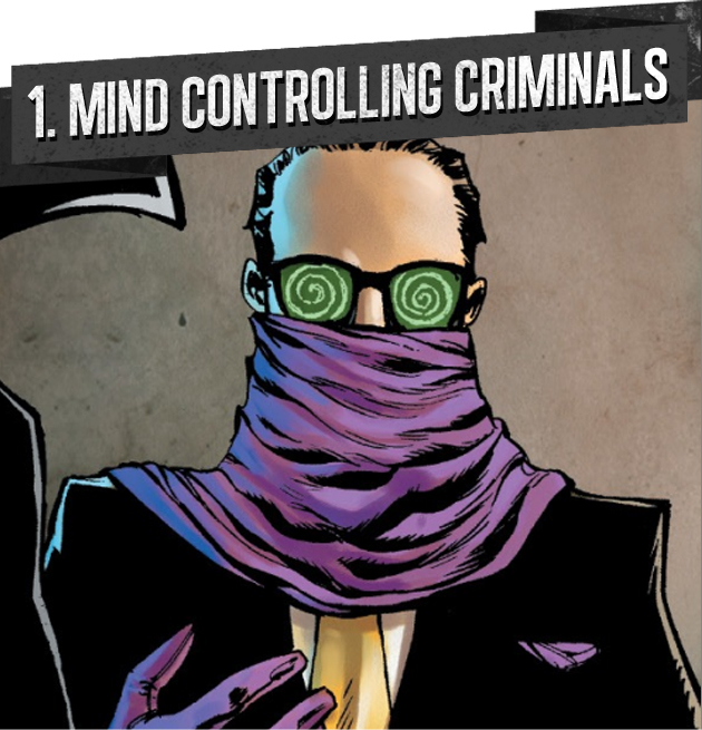 1. MIND CONTROLLING CRIMINALS