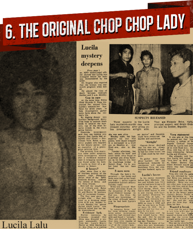 6. THE ORIGINAL CHOP CHOP LADY