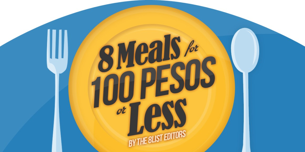 8 Meals for 100 Pesos or Less