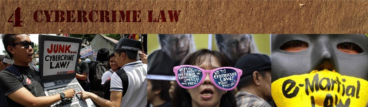 4. Cybercrime Law