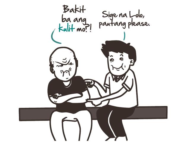 Hook up sa tagalog