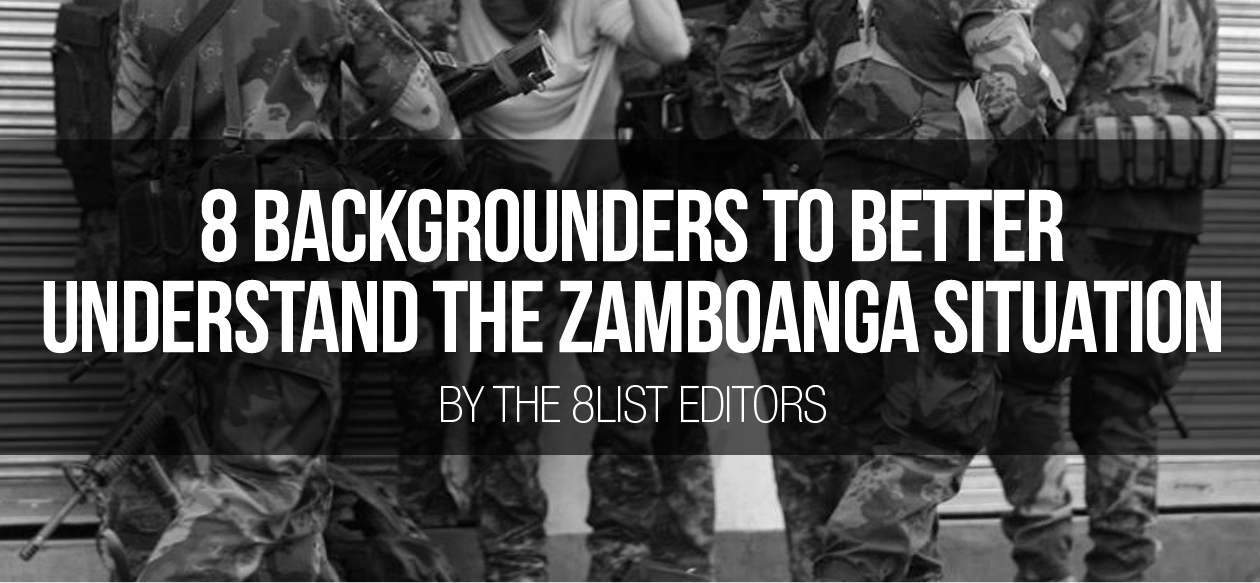 8 Backgrounders to Better Understand the Zamboanga Situation