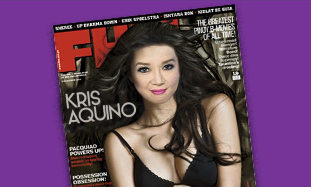 4 Gifts for kris Aquino