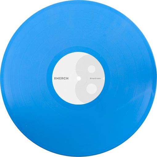 Opaque Lightblue Color Vinyl