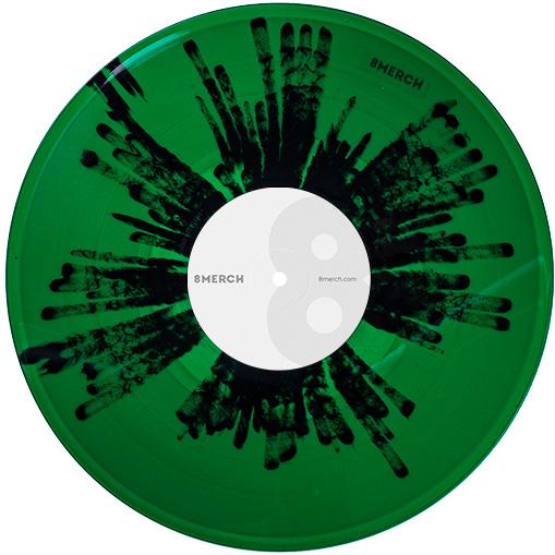 Vinyl Splatter Image