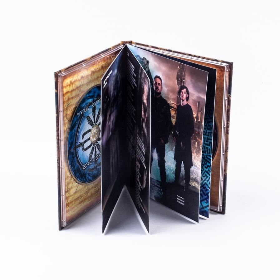 Double CD in A5 Hard-Cover Digibook