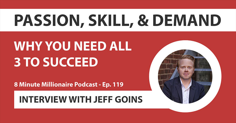 8MM 119: Passion, Skill, and Demand (You Need All 3): Interview With Jeff Goins