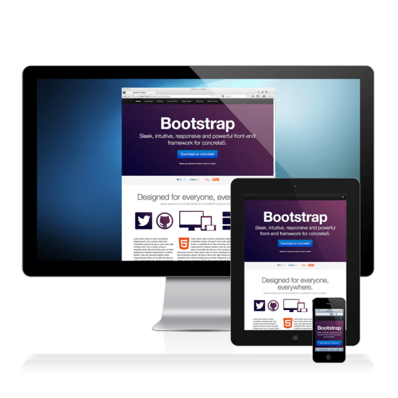 bootstrap on devices