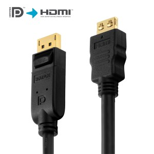 PI5100-030 Cable DisplayPort a HDMI 3 mts | PureLink