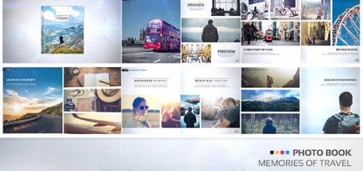 Photo Book - Memories of Travel - After Effect Project