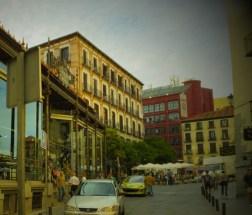 サン・ミゲル市場の外観