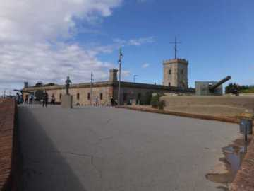 モンジェイク城03_バルセロナ_ある日本人観光客のスペイン旅行記