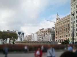 カタルーニャ広場00_バルセロナ_ある日本人観光客のスペイン旅行記