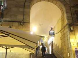 クリチェロス門02_マヨール広場_スペイン旅行記2014