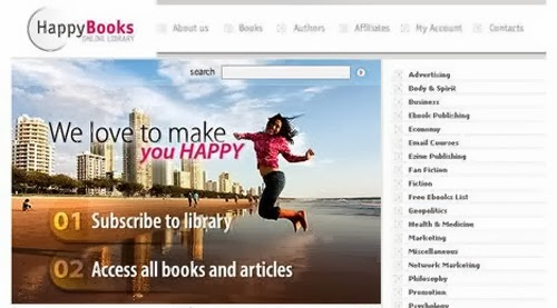 Free Happy Book Oscommerce Responsive Theme