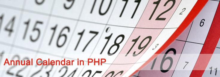 calendar-php