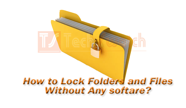 How to protect folder without software