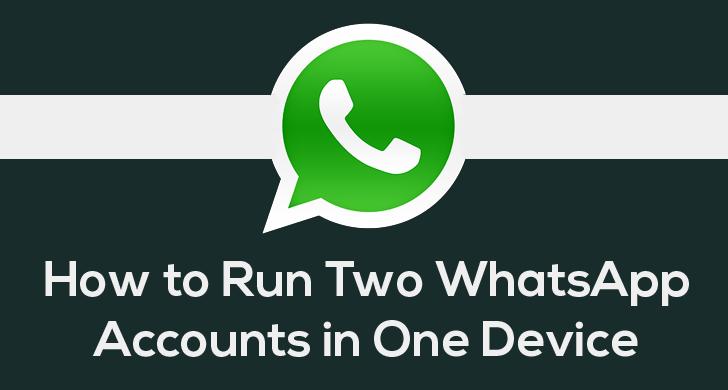 multiple whatsapp account