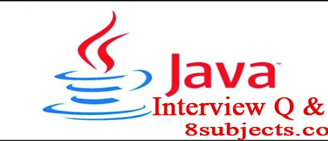 java programming interview questions and answers