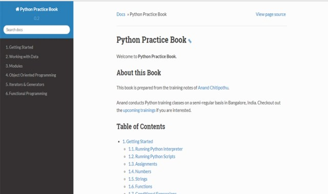 php practice book
