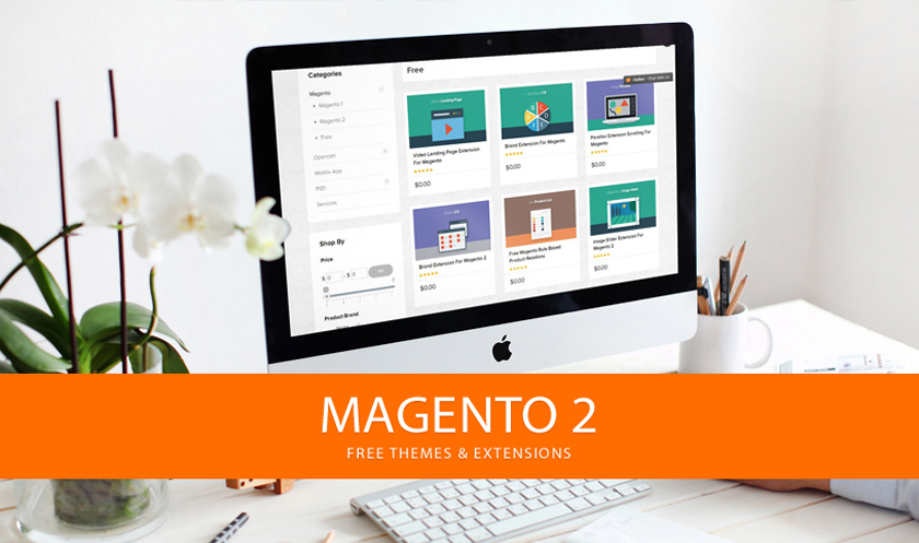 Top 25 Free Magento Themes 2017