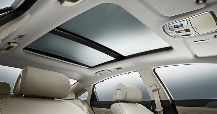 Panoramic Sunroof Airbag Details
