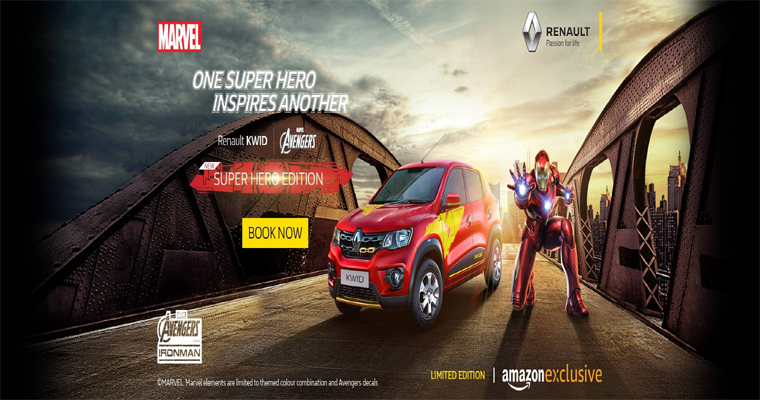Renault Kwid Super Hero Edition