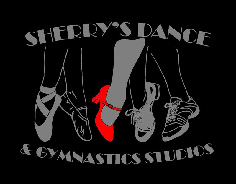 Sherry's Dance Studio - Entryway Glass