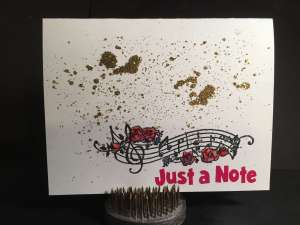 I Brake for a Note ..