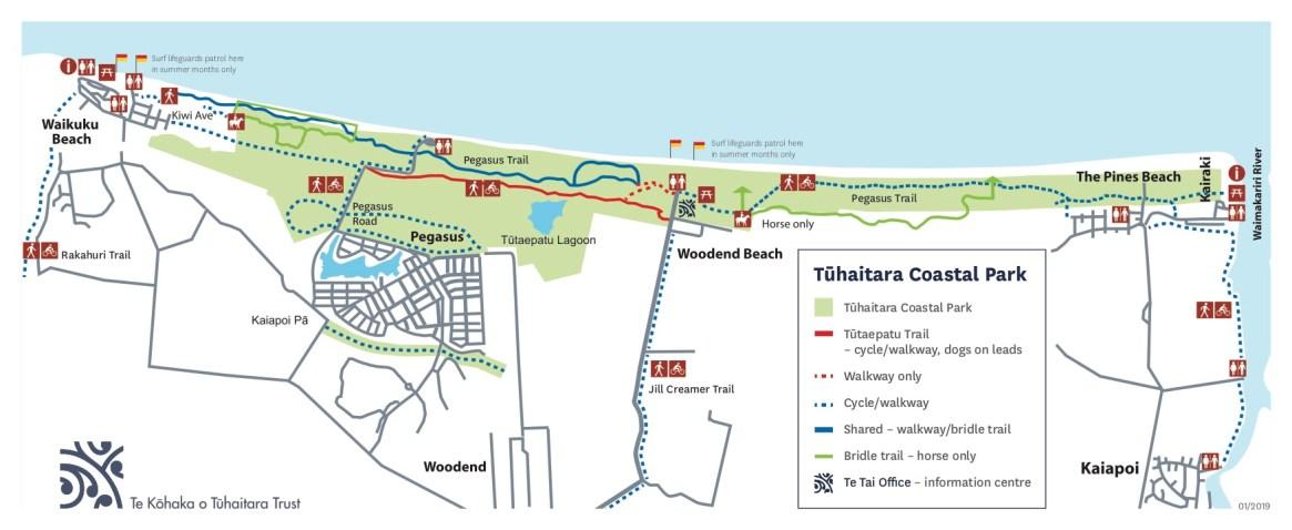Fig. 3: Tuhaitara Coastal Park (Image: Te Kōhaka o Tūhaitara Trust)