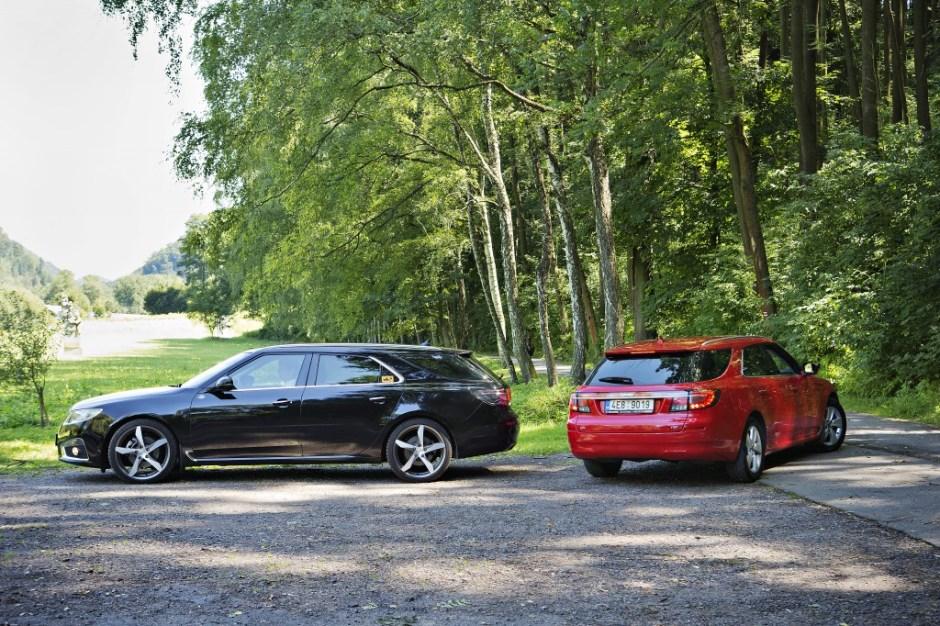 Saab 9-5 SportCombi, Aero, vůz, auto --- new, Saab 9-5 SportCombi, Aero, unique, rare, Saab bankruptcy, Spyker, GM