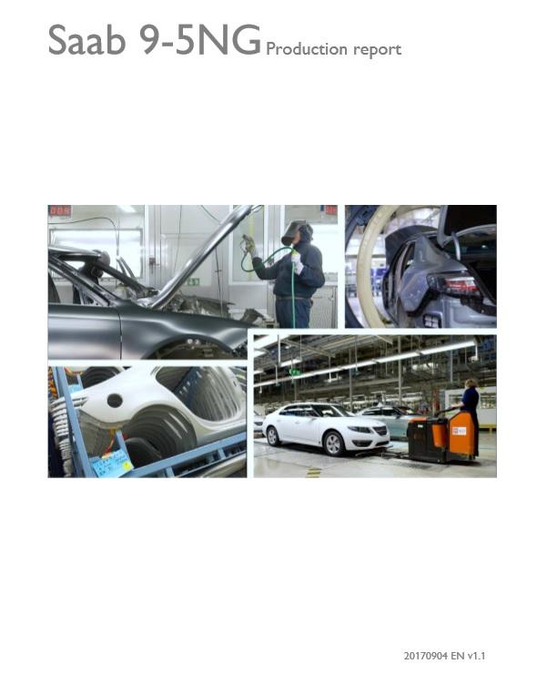 Saab 9-5NG Production report v1.1