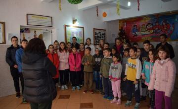 Vizitë dashurie në Shtëpinë e Fëmijës në Sarandë
