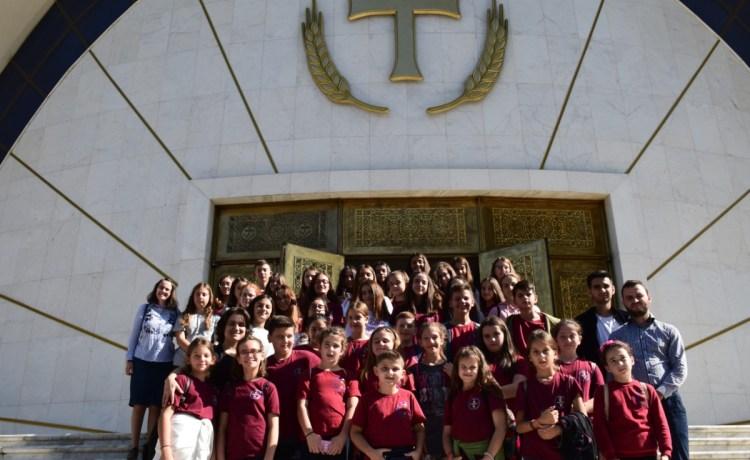 Ekskursioni i parë i korit në Tiranë