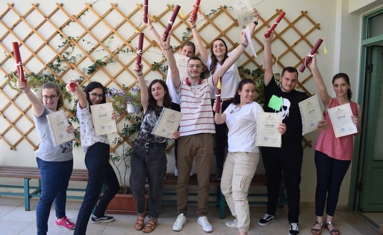 Τελετή Αποφοίτησης-Ιδρυση Συλλόγου Αποφοίτων