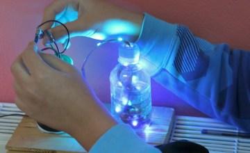 Eksperiment në Fizikë për qarkun elektronik (Klasa IX)