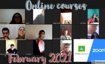 Διαδικτυακά μαθήματα – Φεβρουάριος 2021