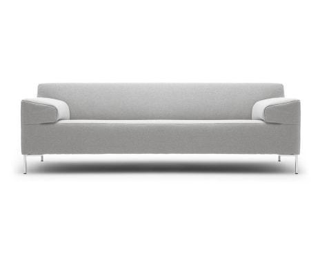 rolf benz freistil sofa no 180 with cup holders luksusowa jasna szara 7034655387