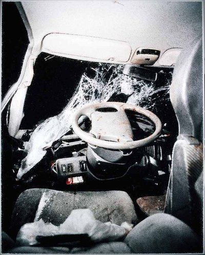 Car Crash Studies, Untitled # 8. 2009. Lightbox #3. 102x127 cm. Ed 1/1+1AP.