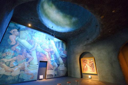 接著來到B2F, 這裡展示文藝復興至巴洛克時期的畫作