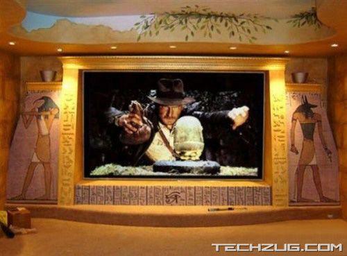 Coolest Private Home Theatres