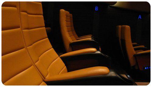 Futuristic Movie Theater in China