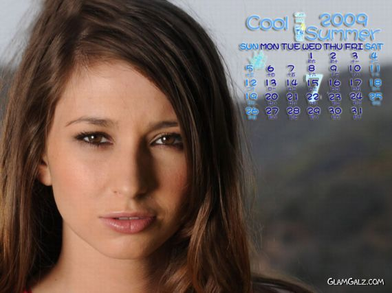 Click to Enlarge - Beautiful $hay L@ren Calendar 2009
