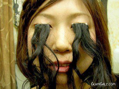 Worlds Longest Eyelashes Record