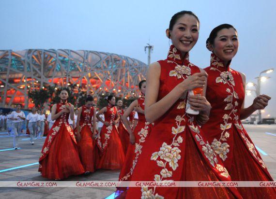 Beijing Olympics Opening Ceremony Rehearsal