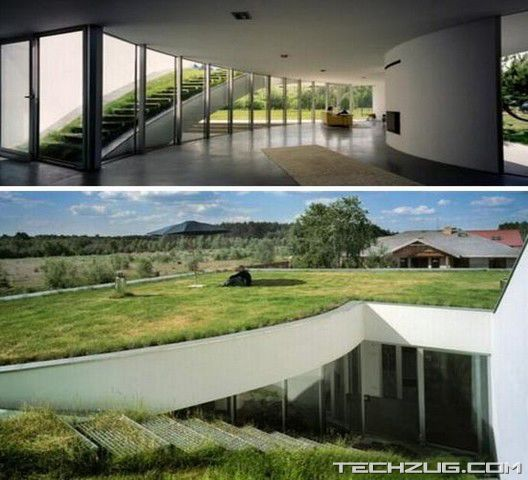 Top 10 Coolest Underground Houses