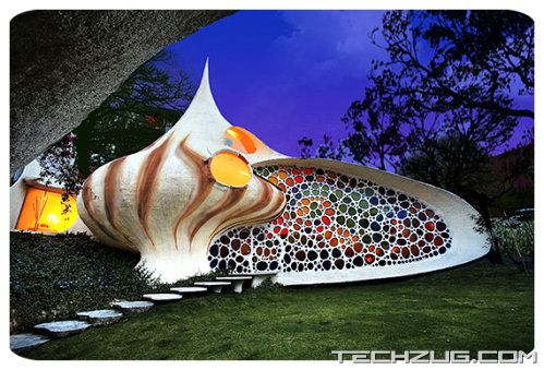 Amazing Shell Shaped Nautilus House
