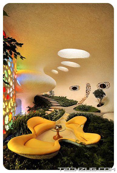 Amazing Shell Shaped Nautilus House