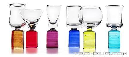 Colored Shot Glasses