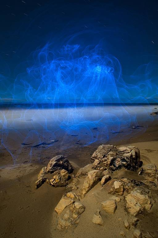 Amazing Paintings with Laser Lights